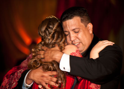 Quiero Mis Quinces | Season 6: Jennifer - Getting emotional with Papi.