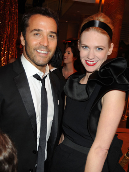 Breakups of 2010 - Jeremy Pivens & January Jones: Too much too soon.