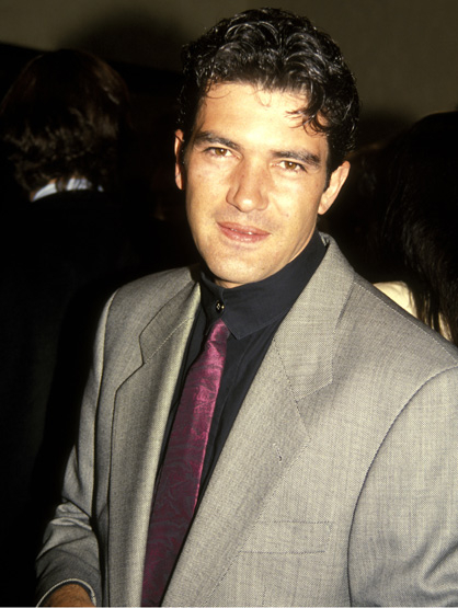 Latinos: Then and Now - Antonio Banderas: Then
