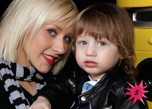 Top 15 Cutest Celebrity Kids - # 5: Max Bratman, son of Christina Aguilera
