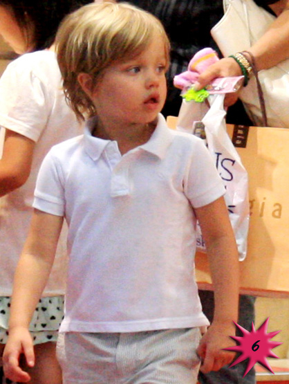 Top 15 Cutest Celebrity Kids - # 6: Shiloh Nouvel Jolie-Pitt, daughter of Angelina Jolie and Brad Pitt