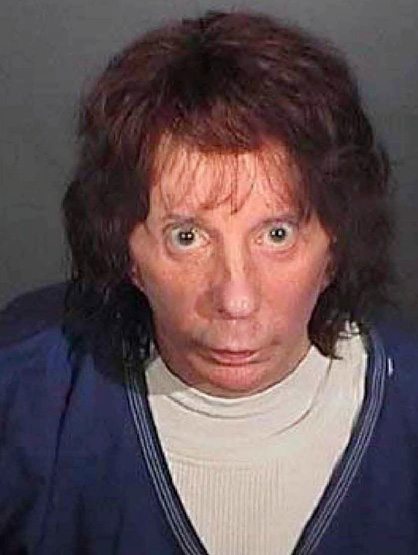 Celebrity Mug Shots - Phil Spector adds shooting a woman to his resume in '03
