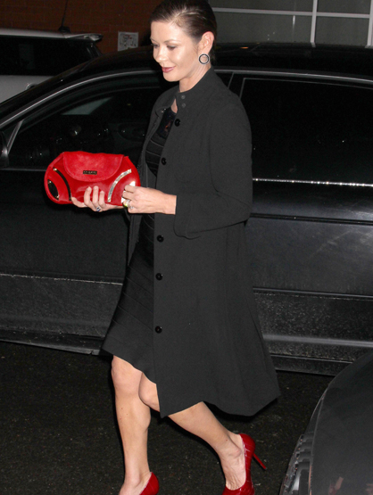 Faces and Places - 1.17.2012 Catherine Zeta-Jones out and about. (NYC)