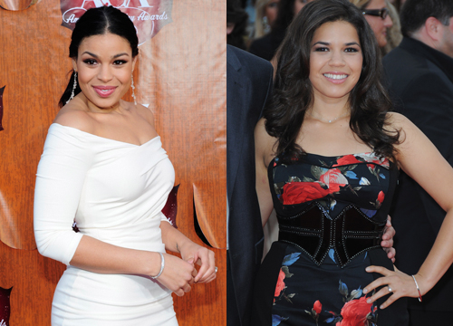 Celebrities Who Look Like Other Celebrities. - Jordin Sparks and America Ferrera