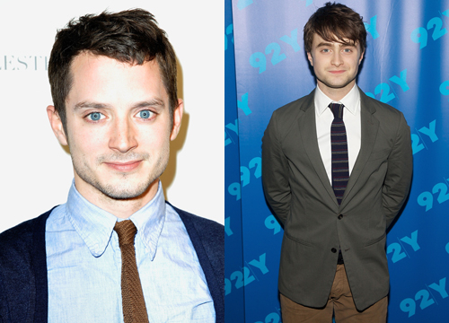 Celebrities Who Look Like Other Celebrities. - Daniel Radcliffe and Elijah Wood