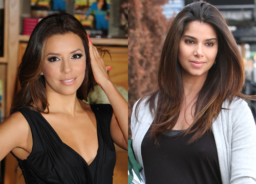 Celebrities Who Look Like Other Celebrities. - Roselyn Sanchez and Eva Longoria