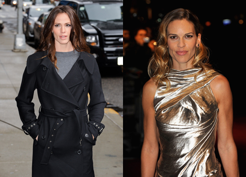 Celebrities Who Look Like Other Celebrities. - Jennifer Garner and Hilary Swank