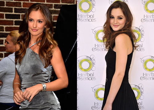 Celebrities Who Look Like Other Celebrities. - Leighton Meester and Minka Kelly