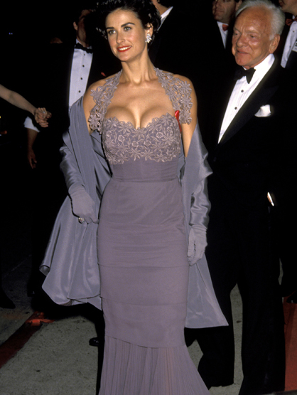 Demi Moore Through the Years - (Mar 1992) Demi Moore during 64th Annual Academy Awards.