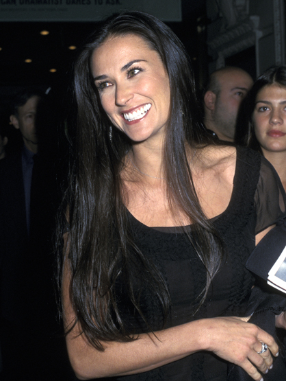 Demi Moore Through the Years - (Apr 2002)