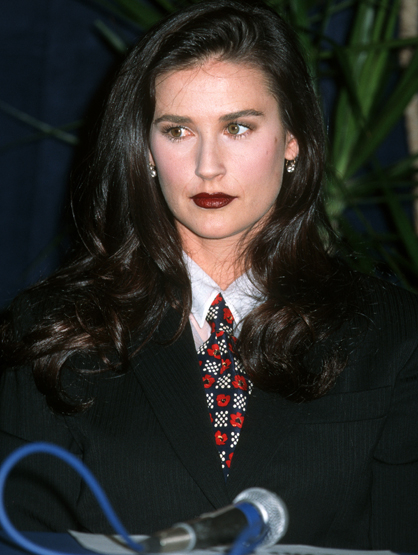 Demi Moore Through the Years - (Mar 1995) Demi Moore at the Bally's Hotel in Las Vegas, Nevada.