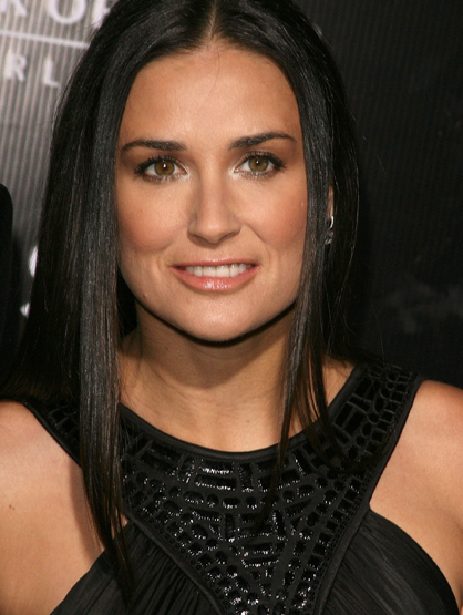 Demi Moore Through the Years - (Feb 2007) Demi Moore during Gianni and Donatella Versace Receive The Rodeo Drive Walk of Style Award.