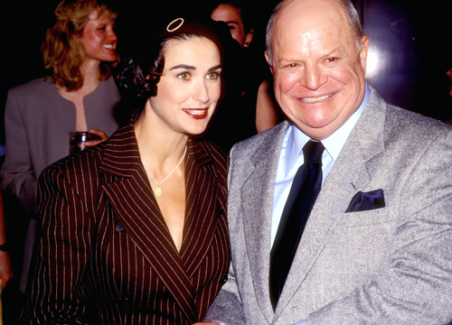 Demi Moore Through the Years - (Jan 1980) Demi Moore and Don Rickles.