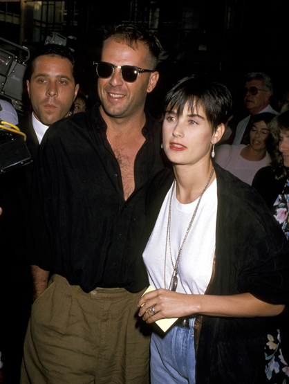 Demi Moore Through the Years - (July 1989) Premiere of