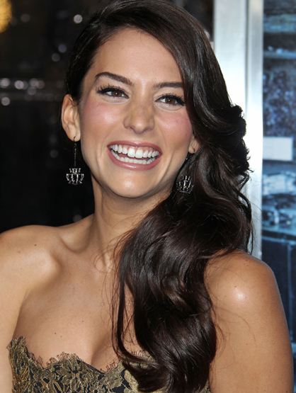 Faces and Places - 1.23.2012 Genesis Rodriguez, Man On A Ledge, Film Premiere, Grauman''s Chinese Theatre, (Hollywood, CA.)