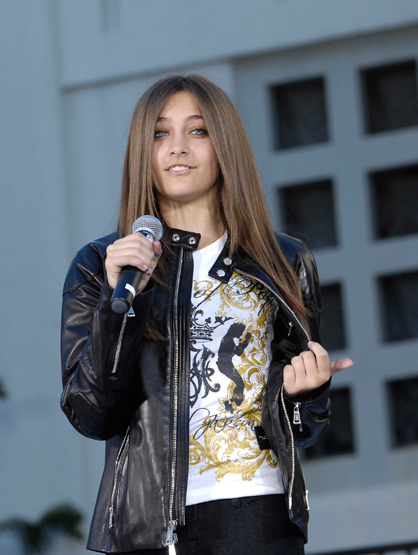 Faces and Places - 1.26.2012 Paris Jackson during a ceremony honoring the late Michael Jackson with Ha