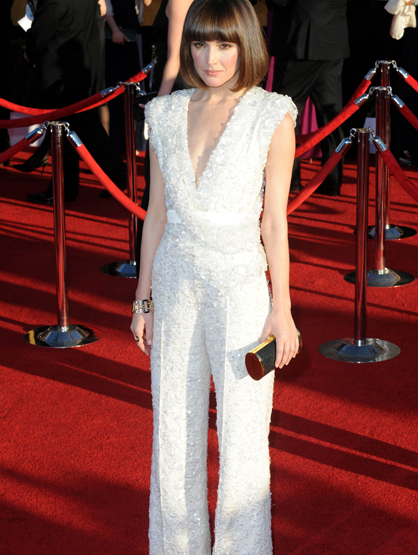 Faces and Places - 1.29.2012 Rose Byrne at the 18th Annual Screen Actors Guild Awards (SAG).