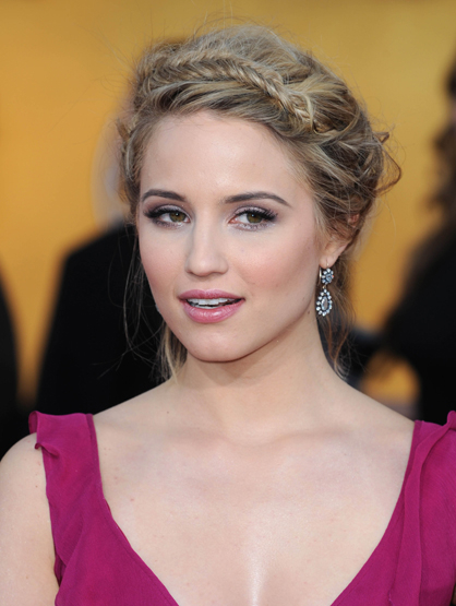 Faces and Places - 1.29.2012 Dianna Agron at the 18th Annual Screen Actors Guild Awards (SAG).