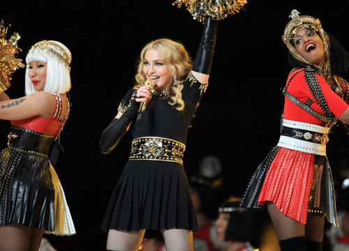 Madonna Super Bowl Halftime Show Extravaganza! - Super Bowls perfect momment :)