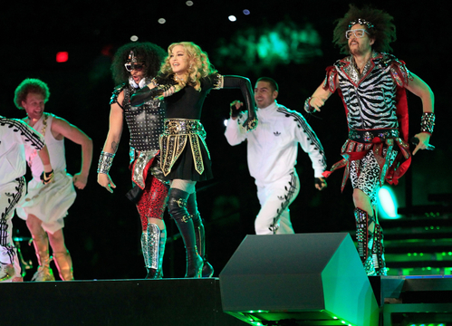 Madonna Super Bowl Halftime Show Extravaganza! - Madonna has moves for days!
