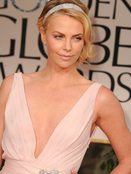 Before They Were Famous - Charlize Theron was a trained ballet dancer.