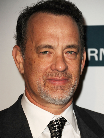Before They Were Famous - Tom Hanks was a bell man at a hotel.