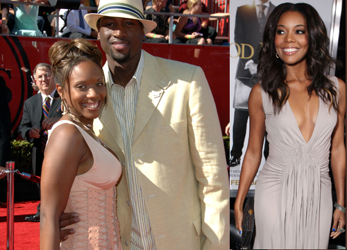 Celebrity Love Triangles - NBA Star Dwayne Wade started dating Gabrielle Union before he had divorced from wife Siohvaughn.