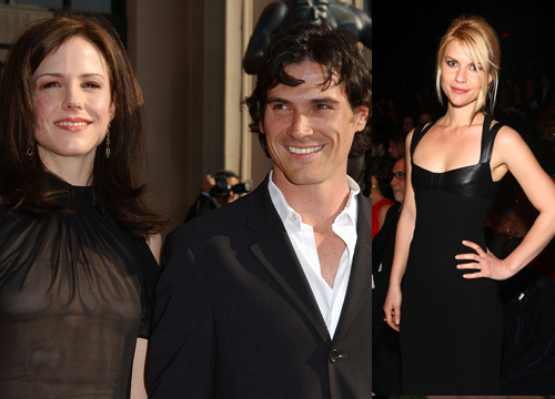 Celebrity Love Triangles - Mary Louise Parker's relationship to Billy Crudup ended when he left her for Claire Danes in 2003.