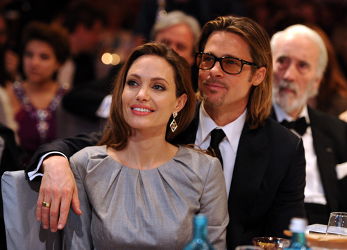 The Cutest Celebrity Couples - Brad Pitt and Angelina Jolie.