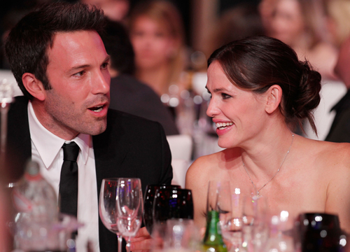 The Cutest Celebrity Couples - Jennifer Garner and Ben Affleck.