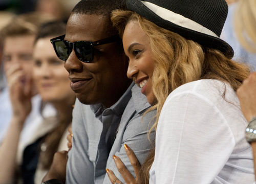 The Cutest Celebrity Couples - Beyonce and Jay Z.