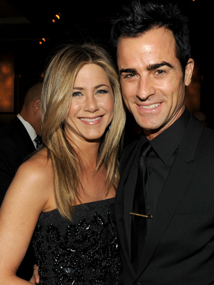 The Cutest Celebrity Couples - Jennifer Aniston and Justin Theroux.