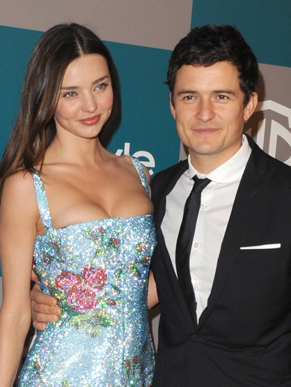 The Cutest Celebrity Couples - Orlando Bloom and Miranda Kerr.