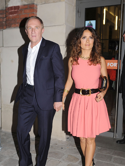 The Cutest Celebrity Couples - Salma Hayek and Franois-Henri Pinault.