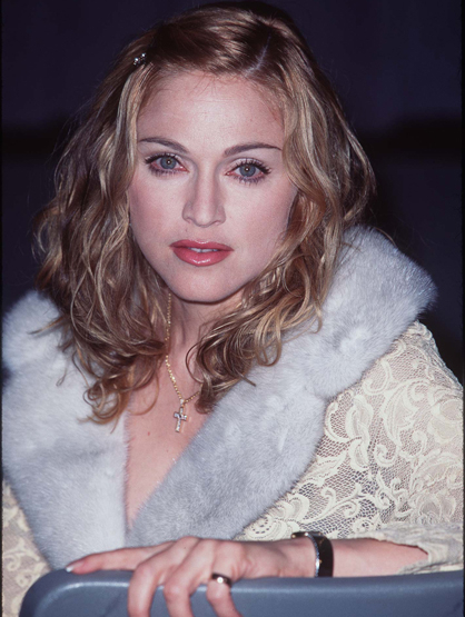 Madonna Through the Years - (Dec 1996) Madonna during Evita Screening and Press Conference at Director's Guild in Los Angeles, California, United States.