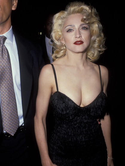 Madonna Through the Years - (Feb 1991) Tribute to Andrew Lloyd Weber Hosted by the Music Center of Los Angeles.