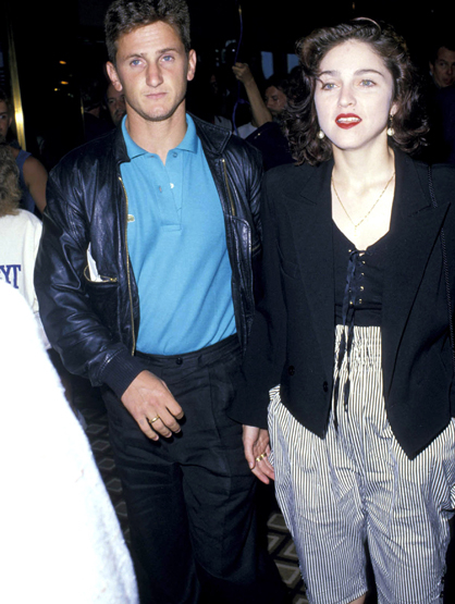 Madonna Through the Years - (June 1988) Sean Penn and Madonna.