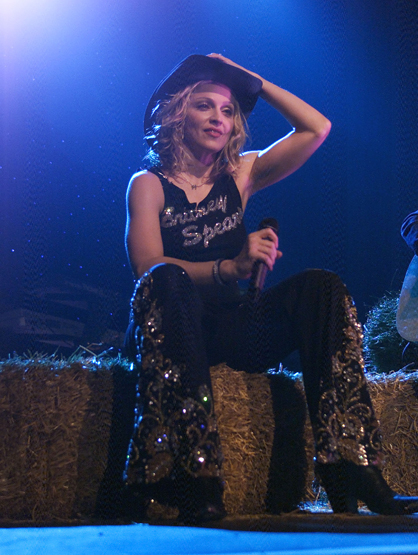Madonna Through the Years - (Nov 2000) Madonna performing in New York City at Roseland.