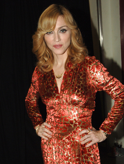 Madonna Through the Years - (Nov 2005) MTV European Music Awards Lisbon  Backstage.