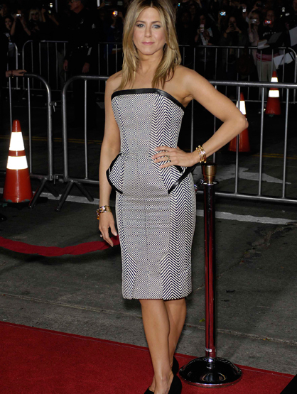 Faces and Places - 02.16.2021 Jennifer Aniston during the premiere of the new movie from Universal Pictures WANDERLUST, held at the Mann Village Westwood.