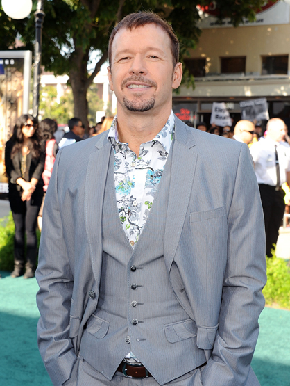 Celebrity Siblings - Mark Wahlberg's brother: Donnie Wahlberg