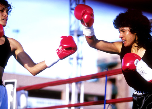 Latinos in Sports - Delia Gonzalez packs a mean punch!