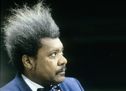 Iconic Celebrity Hair - Boxing promoter Don King's hair soon became the main event at many title fights with its gravity-defying hold.