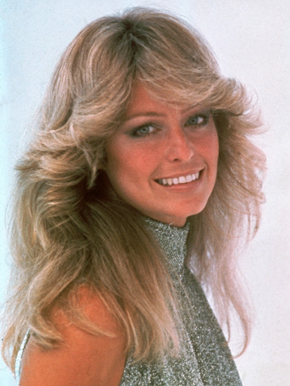 Iconic Celebrity Hair - Farrah Fawcett's 