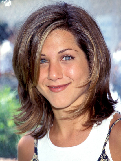 Iconic Celebrity Hair - Jennifer Aniston's