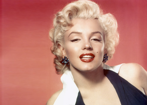 Iconic Celebrity Hair - Marilyn Monrow was the original