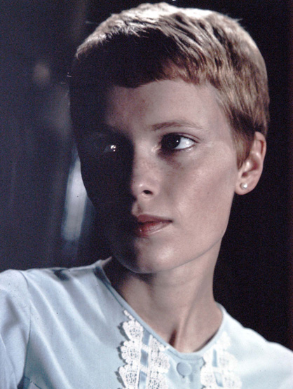 Iconic Celebrity Hair - The pixie cut Mia Farrow sported in 