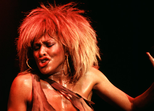 Iconic Celebrity Hair - Tina Turner left crowds