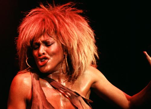 tina turner hairstyles : Tina Turner left crowds