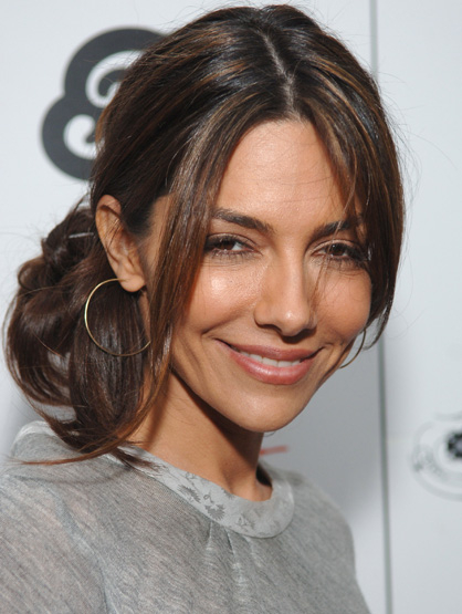 Latinos Clandestinos: TV and Film - Sultry beauty Vanessa Marcil became famous for her portrayal of Brenda Barrett on the daytime soap
